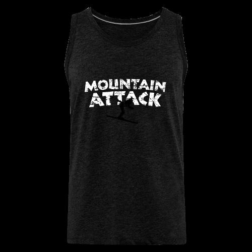 Mountain Attack Ski (Vintage Schwarz/Weiß) S-5XL T-Shirt - Männer Premium Tank Top