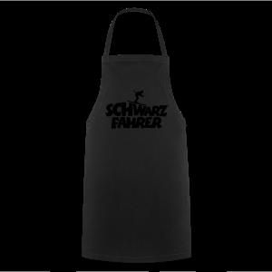 Schwarzfahrer Skifahrer Langarmshirt - Kochschürze