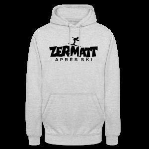 Zermatt Après-Ski T-Shirt - Unisex Hoodie