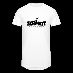 Zermatt Après-Ski T-Shirt - Männer Urban Longshirt