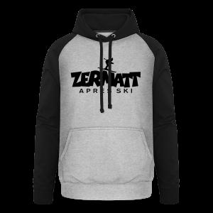 Zermatt Après-Ski T-Shirt - Unisex Baseball Hoodie
