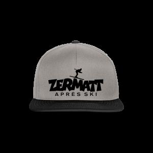 Zermatt Après-Ski T-Shirt - Snapback Cap