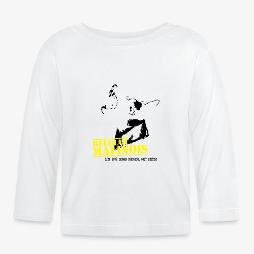 K9 Malinois Damen Hoodie - Baby Langarmshirt