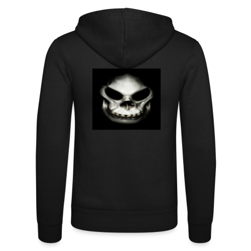 Skull - Unisex Hooded Jacket by Bella + Canvas