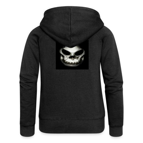 Skull - Women's Premium Hooded Jacket