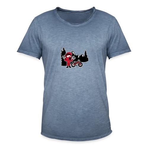 Freerider - Männer Vintage T-Shirt