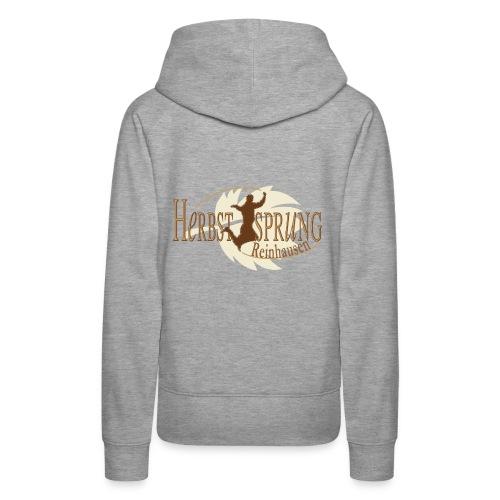 Herbstsprung Logo - Frauen Premium Hoodie