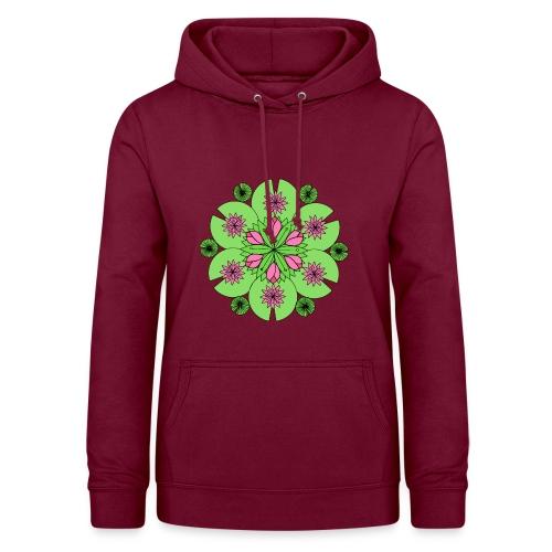 Pond Lotus Mandala - Women's Hoodie