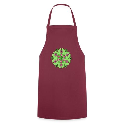 Pond Lotus Mandala - Cooking Apron