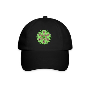 Pond Lotus Mandala - Baseball Cap