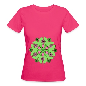 Pond Lotus Mandala - Women's Organic T-shirt