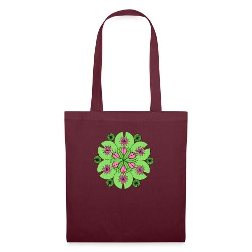 Pond Lotus Mandala - Tote Bag