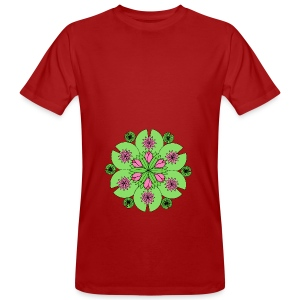 Pond Lotus Mandala - Men's Organic T-shirt