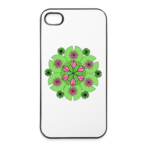 Pond Lotus Mandala - iPhone 4/4s Hard Case