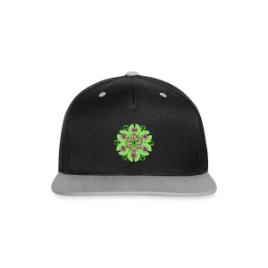 Pond Lotus Mandala - Contrast Snapback Cap