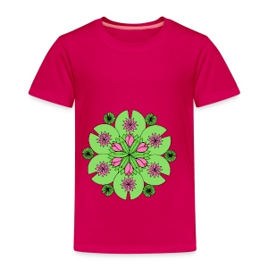 Pond Lotus Mandala - Kids' Premium T-Shirt