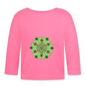 Pond Lotus Mandala - Baby Long Sleeve T-Shirt