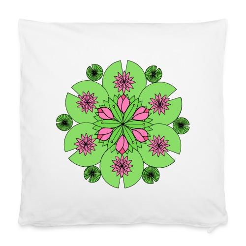 Pond Lotus Mandala - Pillowcase 40 x 40 cm