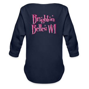 Brighton Belles Women's Navy Premium Hooded Jacket - Longsleeve Baby Bodysuit