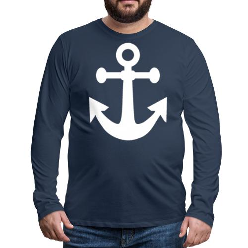 BELGIAN-MARINE - T-shirt manches longues Premium Homme