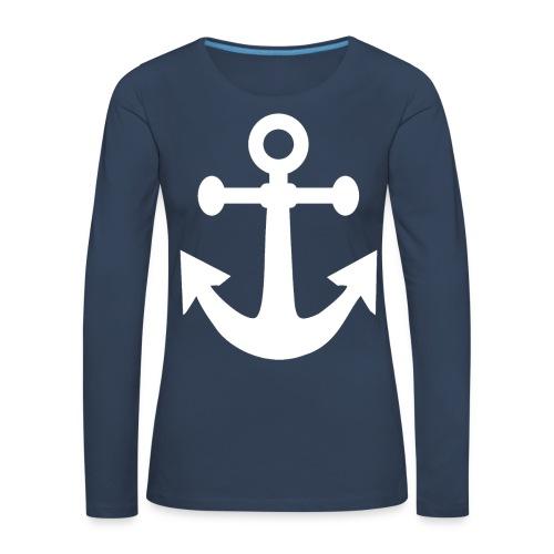 BELGIAN-MARINE - T-shirt manches longues Premium Femme
