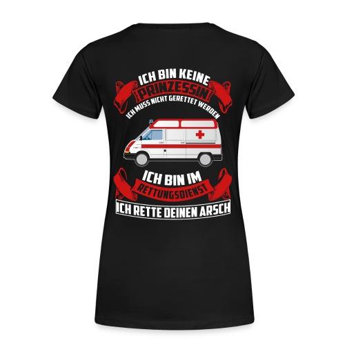 Rettungdienst - Prinzessin - Frauen Premium T-Shirt
