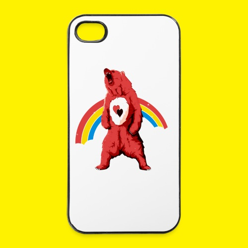 Rainbow Grizzly  - iPhone 4/4s Hard Case