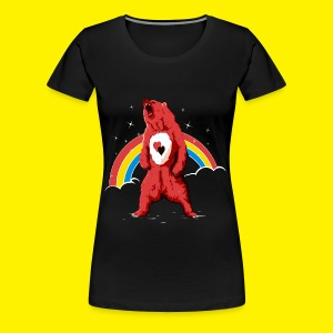 Rainbow Grizzly  - Women's Premium T-Shirt