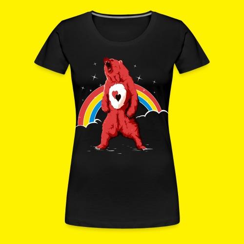 Rainbow Grizzly  - Women's Premium T-Shirt