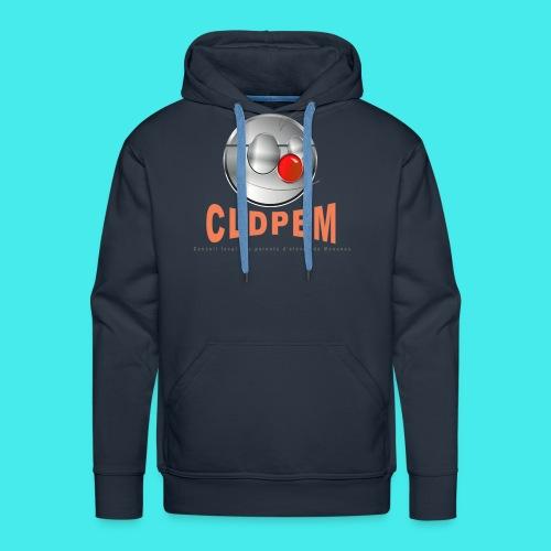 logo CLDPEM - Sweat-shirt à capuche Premium pour hommes