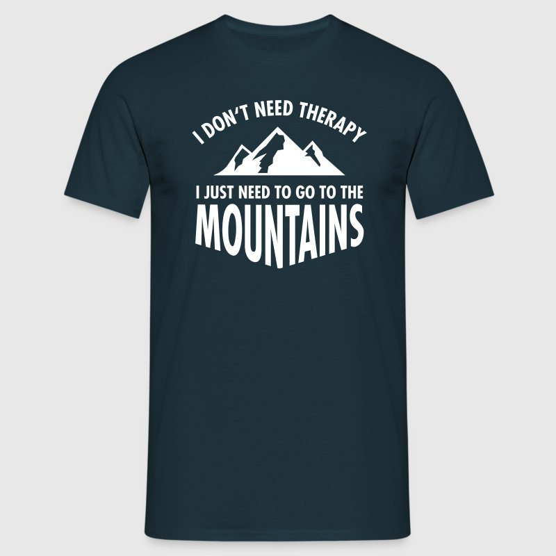 Therapy - Mountains Tee shirts - T-shirt Homme