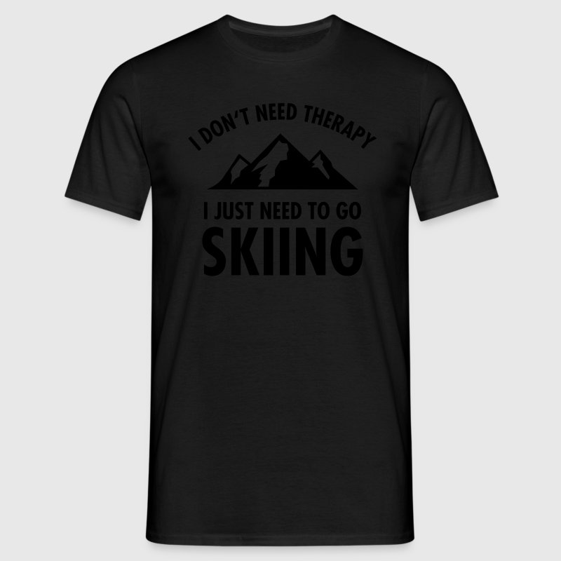 Therapy - Skiing T-Shirts - Men's T-Shirt