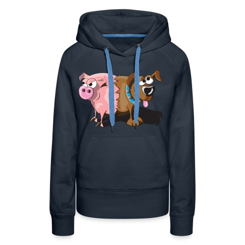 Schweinehund - Frauen Premium Hoodie