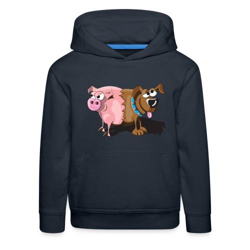 Schweinehund - Kinder Premium Hoodie