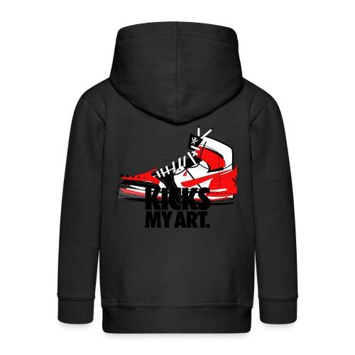 Veste à capuche Premium Enfant - Destrukt my Kick by MiZAl Touch Concept