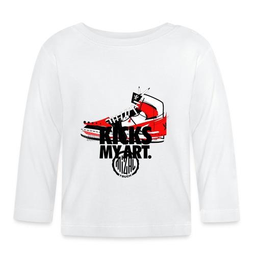 Kicks my Art AJ1 - T-shirt manches longues Bébé