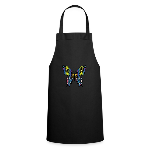 Multi-Coloured Butterfly  - Cooking Apron
