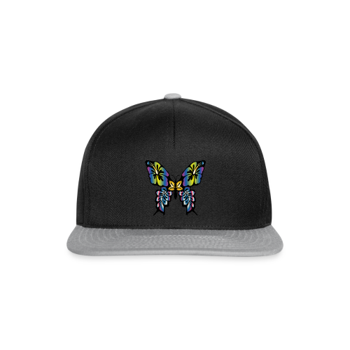 Multi-Coloured Butterfly  - Snapback Cap