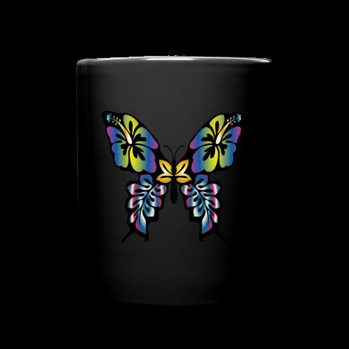 Multi-Coloured Butterfly  - Full Colour Mug