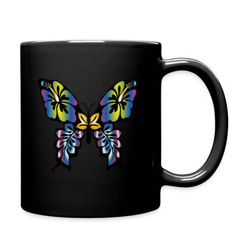 Multi-Coloured Butterfly  - Full Colour Mug