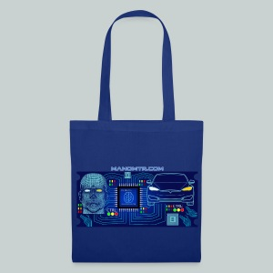 CyberCar Driver and Car pure integration - Tote Bag