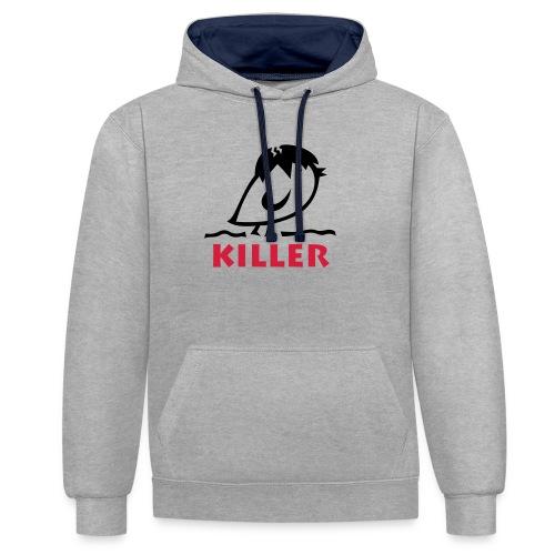 TWEETLERCOOLS - KILLER KÜKEN - Kontrast-Hoodie