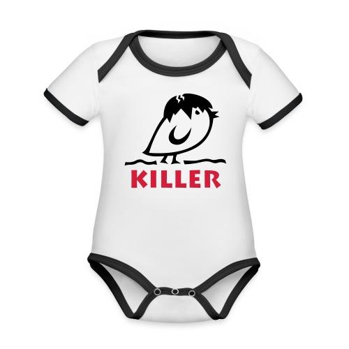 TWEETLERCOOLS - KILLER KÜKEN - Baby Bio-Kurzarm-Kontrastbody