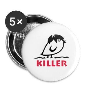 TWEETLERCOOLS - KILLER KÜKEN - Buttons mittel 32 mm