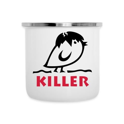 TWEETLERCOOLS - KILLER KÜKEN - Emaille-Tasse