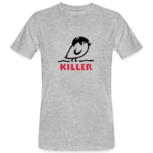 TWEETLERCOOLS - KILLER KÜKEN - Männer Bio-T-Shirt