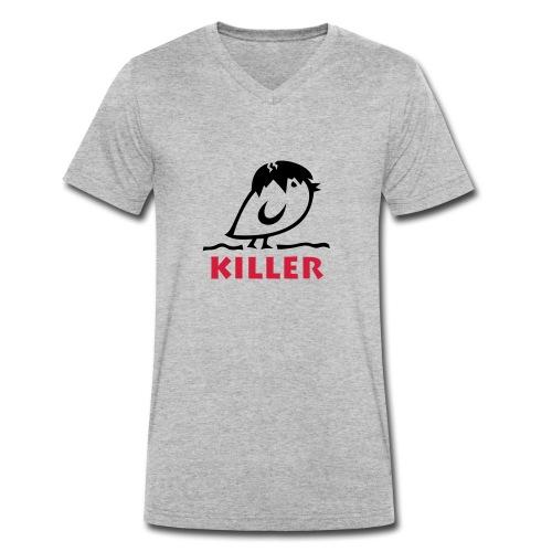 TWEETLERCOOLS - KILLER KÜKEN - Männer Bio-T-Shirt mit V-Ausschnitt von Stanley & Stella