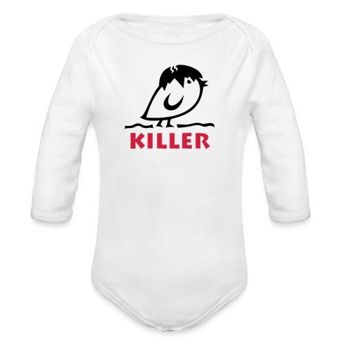 TWEETLERCOOLS - KILLER KÜKEN - Baby Bio-Langarm-Body