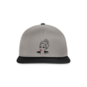 Kissing vintage girl retro look - Snapback Cap