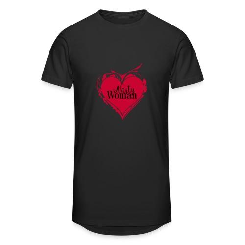 Nasty Woman ART Heart - Männer Urban Longshirt